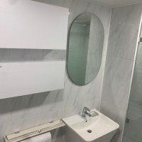 디누아보 심플릭 화이트 화장실 욕실 리모델링 인테리어 시공비포함
