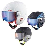 고글과 헬멧을 한번에 알피나 아동 바이저 헬멧