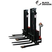블랙드래곤 전동 포크리프트 CDD-1230W CDD-1530W 지지대확장형 스태커