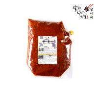 [으라차차 식자재 마트] 잘식비 만능 쌈장 소스 3kg 정육 고기 전용 업소용 대용량