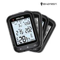 샨렌 마일즈 GPS 무선 버츄얼 파워미터 자전거 속도계 스트라바 연동 바이크 컴퓨터