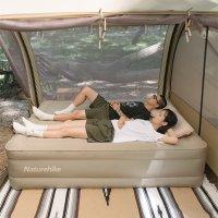 네이처하이크 피치스킨 46cm 더블 캠핑에어매트 캠핑매트리스 (다용도 에어점프 포함)