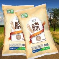 10kg 팽성농협 평택 아끼바레 현미 5kg 찹쌀 효능 밥맛 좋은 건강한 현미쌀 10키로