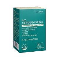 뉴트리코어 NCS 식물성 알티지 RTG 오메가3 30개입 초임계 추출 혈액 순환 고함량