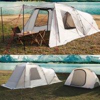 비바코 젤라 텐트 리빙쉘 거실형 돔 쉽 쉘터 캠핑 에어 터널형 장박용 감성 코스트코