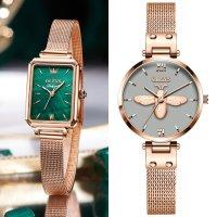 여자 여성 손목 시계 선물 메탈