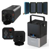 220V 대용량 태양광에서 300W 백팩킹 캠핑 차박 파워뱅크 보조 배터리