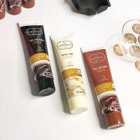 르본 튜브 코팅초콜릿 3종세트(100gx3) 다크 화이트 밀크 DIY 초콜릿 만들기 재료