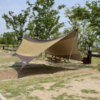 5M 캠핑 헥사 타프 햇빛차단 방수 그늘막