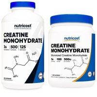 뉴트리코스트 크레아틴 모노하이드레이트 750mg 500캡슐