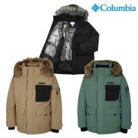 컬럼비아 구스 헤비 다운 자켓 가벼운 사파리 거위털 패딩 점퍼 마운틴 후드V YM3084