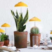 파인굿즈 LED 우산 식물등 식물 성장 생장 재배 등 램프 조명 이케아