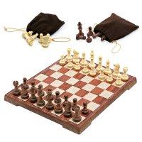 접이식 자석 체스게임 원목 캠핑 보드게임