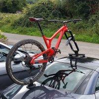 락브로스 흡착식 자전거거치대 차량용 루프캐리어