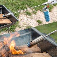 화염방사기 부탄 가스 롱 토치 캠핑용 휴대용 버너 점화 캠핑 바베큐 도구 (직결식)