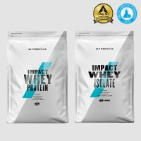 마이프로틴 임팩트 웨이 아이솔레이트 프로틴 1kg WPC WPI 분리 유청 단백질 보충제