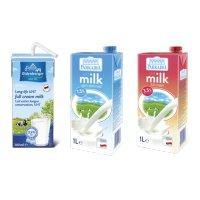 수입 멸균우유 저지방 1000ml 1L 12팩, 200ml 24팩