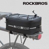 락브로스 A7 4L 대용량 자전거 짐받이가방 방수커버 증정