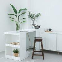 매직 슬라이딩 접이식 확장형 렌지대 수납 식탁 테이블 원룸 좁은주방 공간활용