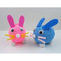 미술샘 클레이 달걀공예 토끼 (5인용) / 부활절 계란만들기