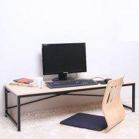 블루밍홈 심플 좌식책상 시리즈 합성목재 1인용 컴퓨터책상
