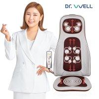 닥터웰 전신 마사지기+전용의자(세트) 목 어깨 등 허리 에어 공기압 두드림 의자형 안마기