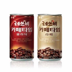 롯데칠성 <b>레쓰비카페타임라떼 24..