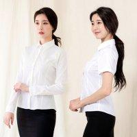 여자흰남방 여성남방 면접블라우스 기본 화이트셔츠