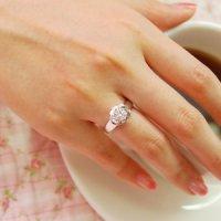 3부 D칼라 다이아몬드 반지 GIA 우신 결혼예물 프로포즈반지 로즈 쓰부다이아세팅