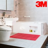 3M 욕실미끄럼방지매트 화장실 발판 패드 베란다 타일바닥. 수영장 샤워장 논슬립매트