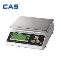 카스 주방 소형 전자 저울 WZ-2D 3kg(1g)/6kg(2g) 제과 제빵 이유식 계량 홈베이킹