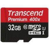 트랜센드 MicroSDHC 32GB UHS-1 CLASS10 400X